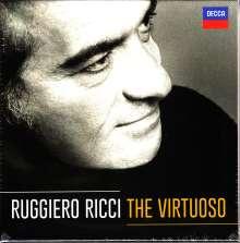 Ruggiero Ricci - The Virtuoso, 13 CDs