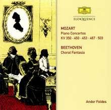 Wolfgang Amadeus Mozart (1756-1791): Klavierkonzerte Nr.10,15,17,21,25, 2 CDs