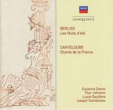 Hector Berlioz (1803-1869): Nuits d'Ete, CD