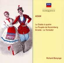 Adolphe Adam (1803-1856): Le Diable a quatre, CD