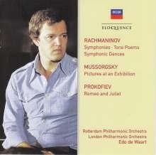 Edo de Waart dirigiert, 4 CDs