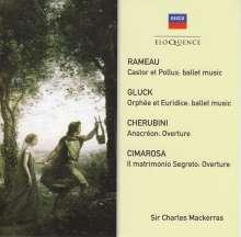 Charles Mackerras - Rameau / Gluck / Cherubini / Cimarosa, CD