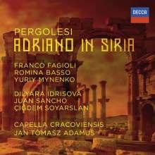 Giovanni Battista Pergolesi (1710-1736): Adriano in Siria, 3 CDs