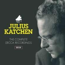 Julius Katchen - The Complete Decca Recordings, 35 CDs