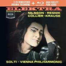 Richard Strauss (1864-1949): Elektra (Deluxe-Ausgabe mit Blu-ray Audio), 2 CDs und 1 Blu-ray Audio