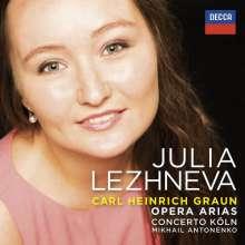Julia Lezhneva - Carl Heinrich Graun, CD