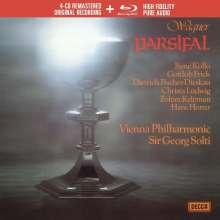 Richard Wagner (1813-1883): Parsifal (Deluxe-Ausgabe mit Blu-ray Audio), 4 CDs und 1 Blu-ray Disc