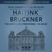 Anton Bruckner (1824-1896): Symphonien Nr.0-9 (mit Blu-ray Audio), 10 CDs und 1 Blu-ray Audio