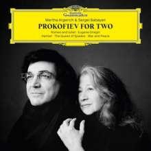 Serge Prokofieff (1891-1953): Transkriptionen für 2 Klaviere (180g), 2 LPs