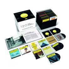 120 Jahre Deutsche Grammophon Gesellschaft -  The Anniversary Edition, 121 CDs und 1 Blu-ray Audio