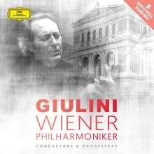 Carlo Maria Giulini und die Wiener Philharmoniker, 8 CDs
