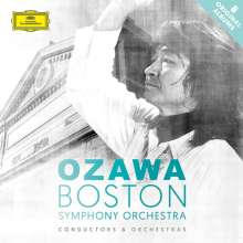 Seiji Ozawa und das Boston Symphony Orchestra, 8 CDs