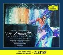 Wolfgang Amadeus Mozart (1756-1791): Die Zauberflöte (Deluxe-Ausgabe mit Blu-ray Audio), 2 CDs und 1 Blu-ray Audio