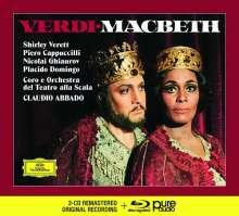 Giuseppe Verdi (1813-1901): Macbeth (Deluxe-Ausgabe mit Blu-ray Audio), 2 CDs und 1 Blu-ray Audio