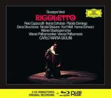 Giuseppe Verdi (1813-1901): Rigoletto (Deluxe-Ausgabe mit Blu-ray Audio), 2 CDs und 1 Blu-ray Audio