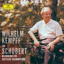 Franz Schubert (1797-1828): Wilhlem Kempff spielt Schubert - The Complete DG Schubert Recordings (mit Blu-ray Audio), 9 CDs und 1 Blu-ray Audio