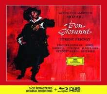 Wolfgang Amadeus Mozart (1756-1791): Don Giovanni (Deluxe-Edition mit Blu-ray Audio), 3 CDs und 1 Blu-ray Audio