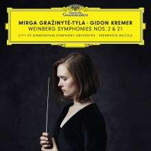 "Mieczyslaw Weinberg (1919-1996): Symphonien Nr.2 & 21 ""Kaddish"", 2 CDs"