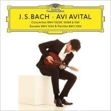 Johann Sebastian Bach (1685-1750): Konzerte für Mandoline & Streicher BWV 1041,1052,1056, 2 CDs und 1 DVD