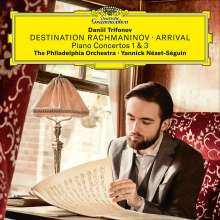 "Sergej Rachmaninoff (1873-1943): Klavierkonzerte Nr.1 & 3 ""Destination Rachmaninov - Arrival"", CD"