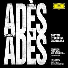 Thomas Ades (geb. 1971): Klavierkonzert, CD