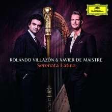 Rolando Villazon & Xavier de Maistre - Serenata Latina, CD
