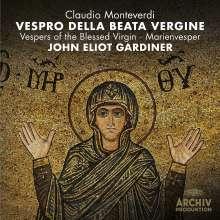Claudio Monteverdi (1567-1643): Vespro della beata vergine (mit DVD), 2 CDs und 1 DVD