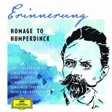 Engelbert Humperdinck (1854-1921): Erinnerung - Homage to Humperdinck, 2 CDs