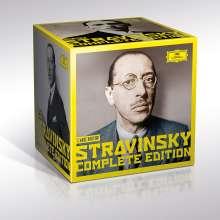Igor Strawinsky (1882-1971): Igor Strawinsky - Die neue vollständige Gesamtedition (Limitierte Auflage), 30 CDs
