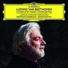 Ludwig van Beethoven (1770-1827): Klavierkonzerte Nr. 1-5, 3 CDs