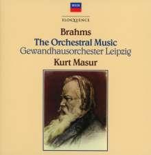 Johannes Brahms (1833-1897): Symphonien Nr.1-4, 8 CDs