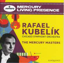 Rafael Kubelik & Chicago Symphony Orchestra - The Mercury Masters, 10 CDs