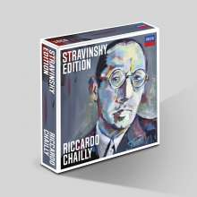 Igor Strawinsky (1882-1971): Riccardo Chailly - Stravinsky Edition (The Complete Recordings), 10 CDs