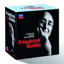 Friedrich Gulda - The Complete Decca Recordings, 37 CDs und 1 Blu-ray Disc