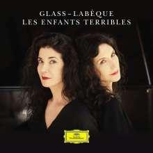 Philip Glass (geb. 1937): Les Enfants terribles-Suite für Klavier 4-händig (arrangiert von Michael Riesman), CD