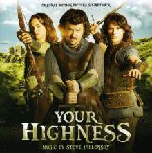 Steve Jablonsky (geb. 1970): Filmmusik: Your Highness (O.S.T.), CD