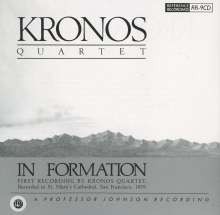 Kronos Quartet: In Formation; At St. Mary's Cathedral San Francisco 1979, CD