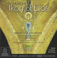 John Tavener (1944-2013): Ikon of Eros, CD
