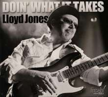 Lloyd Jones: Doin' What It Takes, CD