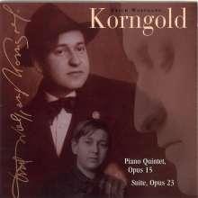 Erich Wolfgang Korngold (1897-1957): Klavierquintett op.15, CD