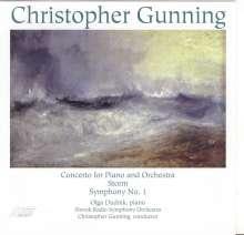 Christopher Gunning (geb. 1944): Symphonie Nr.1, CD