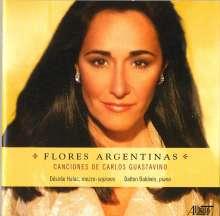 """Carlos Guastavino (1912-2000): Canciones """"Flores Argentinas"""", CD"""