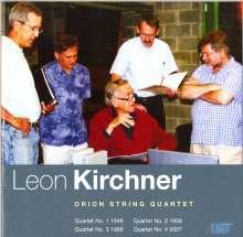 Leon Kirchner (1919-2009): Streichquartette Nr.1-4, CD