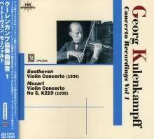 Georg Kulenkampff - Concerto Recordings Vol.1, CD