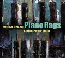 William Bolcom (geb. 1938): Piano Rags, CD