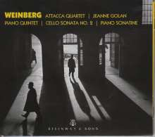 Mieczyslaw Weinberg (1919-1996): Klavierquintett, CD