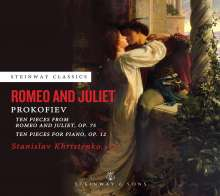 Serge Prokofieff (1891-1953): Romeo & Julia op.75 (Klavierfassung), CD