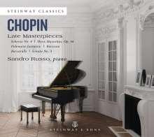 Frederic Chopin (1810-1849): Späte Klavierwerke, CD