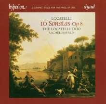 Pietro Locatelli (1695-1764): Violinsonaten op.8 Nr.1-10, 2 CDs