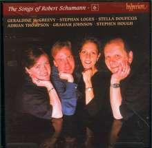 Robert Schumann (1810-1856): Sämtliche Lieder Vol.6, CD